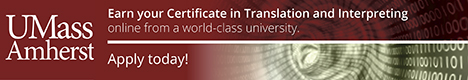 Online Certificate in Translation and Interpreting