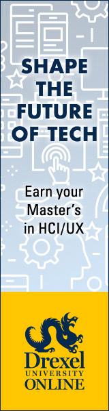 2020 Drexel University Master's in HCI/UX