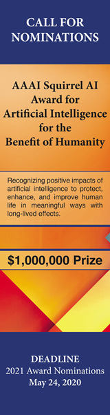 The AAAI Squirrel AI Award for Artificial Intelligence