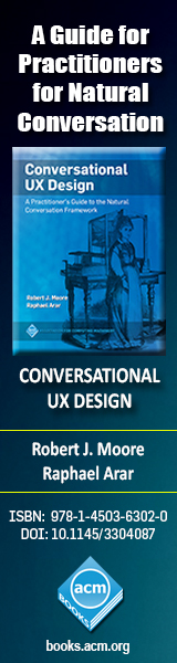 Conversational UX Design: A Practitioner's Guide to the Natural Conversation Framework