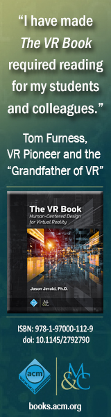 The VR Book - Human-Centered Design for Virtual Reality