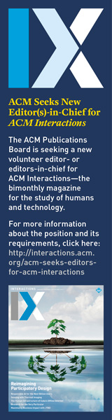 2019 Interactions Editor-In-Chief Search