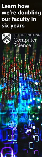 Rice University's Computer Science Department is Growing