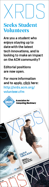 XRDS Student Volunteer Search