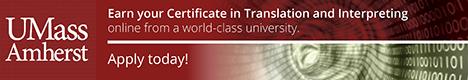 University of Massachusetts Certificate in Translation and Interpreting