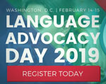Language Advocacy Day 2019