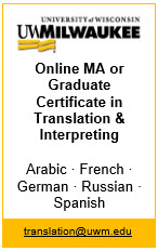 University of Wisconsin Graduate Certificate in Translation and Interpreting
