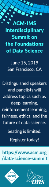 2019 ACM Data Science Summit