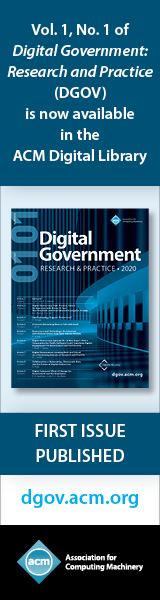 ACM Journal - Digital Government: Research and Practice