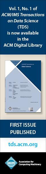 ACM Transactions on Data Science