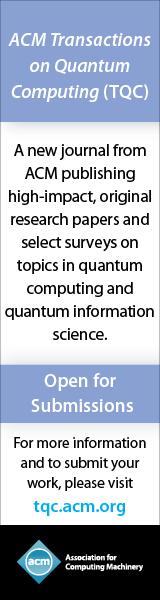 ACM Transactions on Quantum Computing
