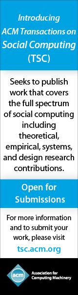 ACM Transactions on Social Computing