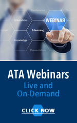 ATA Webinars Live and On Demand