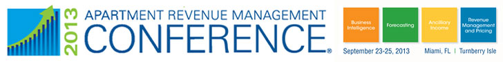 2013 Apt Revenue Mgmt Conference