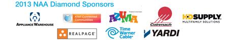2013 Diamond Sponsors with correct Azuma logo