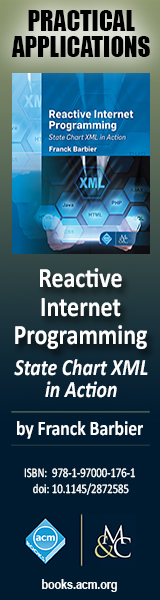 Reactive Internet Programming - State Chart XML in Action