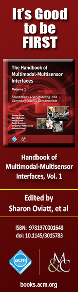 Handbook of Multimodal-Multisensor Interfaces