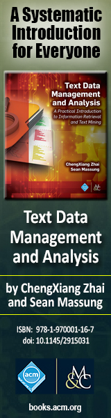 Text Data Management & Analysis