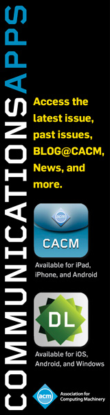 CACM & Digital Library Apps