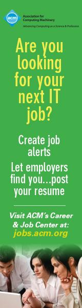 ACM Job Alert