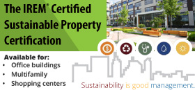 IREM Certified Sustainable Property Certification