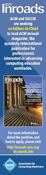 ACM Inroads Co-Editor-in-Chief