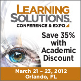 Learning Solutions 2012 - Save 35% with Academic Discount