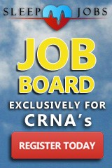Job Board Exclusively for CRNAs