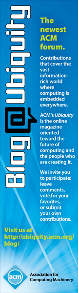 ACM Ubiquity Blog