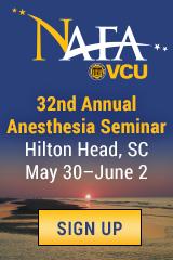 NAFA 32nd Annual Anesthesia Seminar