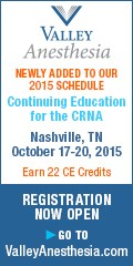 Continuing Education for the CRNA