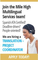 Mile High Multilingual Services