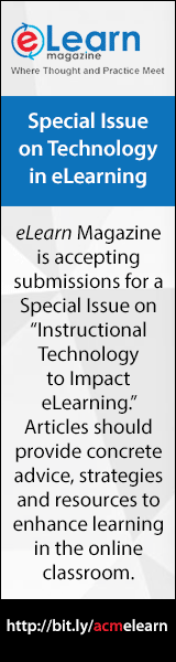 Special Issue on Technology in eLearning