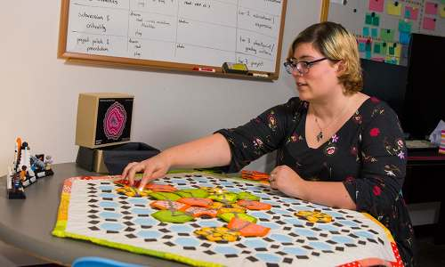 WPI Professor Finds Inspiration at Intersection of Gaming and Crafts