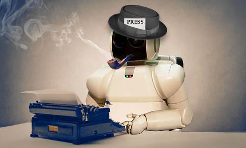 A robot journalist