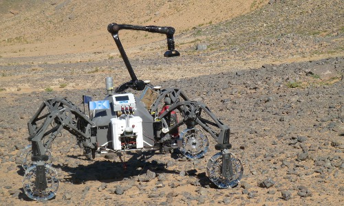 wheeled robot tests autonomous systems