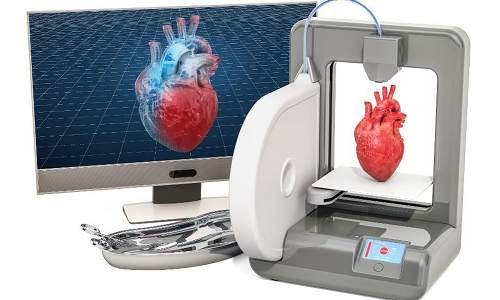 3D Printed Artificial Heart