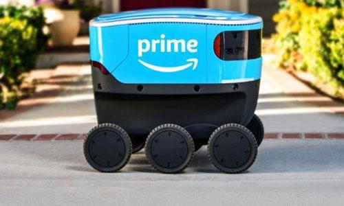 Amazon's delivery robot