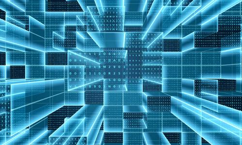 quantum cryptography, illustration