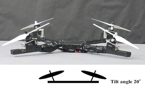 Quad rotor configuration