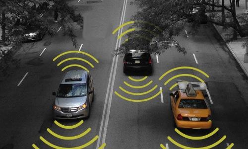 Autonomous vehicles sensing road environment