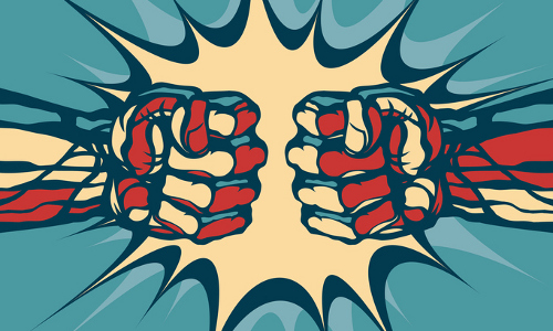 boxing gloves, illustration