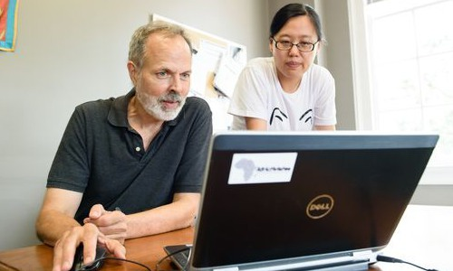 Richard Brooks and Lu Yu