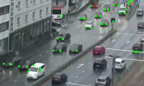 A still of video taken from traffic camera