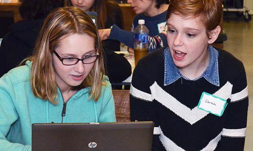 Women in Computing tutoring event