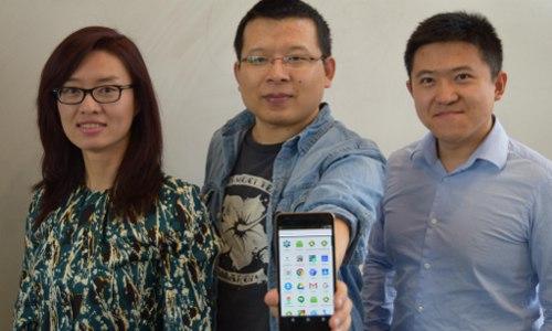 co-authors Daphne Yao, Fang Liu, and Gang Wang