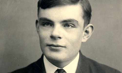 English computer scientist, mathematician, logician, cryptanalyst, philosopher, and theoretical biologist Alan M. Turing.