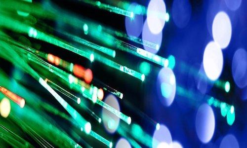Colorful fiber optic cables