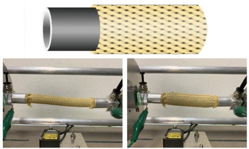Images of pneumatic artificial muscle
