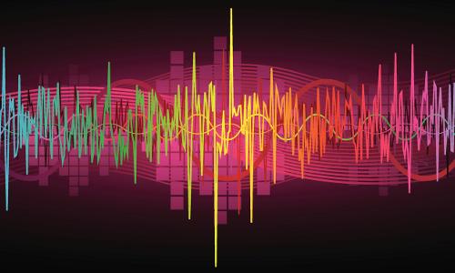sound waves, illustration